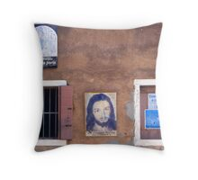Church wall Throw Pillow