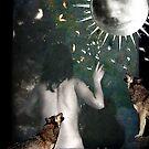 The Moon - La Luna by dmcart