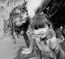 kids n mud II by TimV