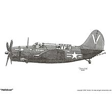 """Helldiver"" Photographic Print"
