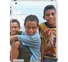 Kiriwina Island Boys iPad Case/Skin