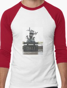 A TRIBUTE TO SALVADOR DALI Men's Baseball ¾ T-Shirt