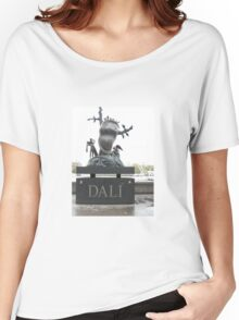 A TRIBUTE TO SALVADOR DALI Women's Relaxed Fit T-Shirt