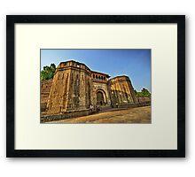 Shaniwar Wada - Morning Delight Framed Print