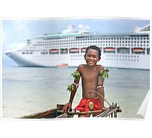 Kiriwina Boy Poster