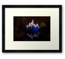 Magic in that Castle Framed Print