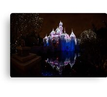 Magic in that Castle Canvas Print