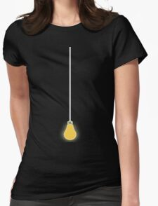 Lightbulb T-Shirt Womens Fitted T-Shirt
