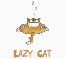 lazy cat by BRENDEN HOWARD