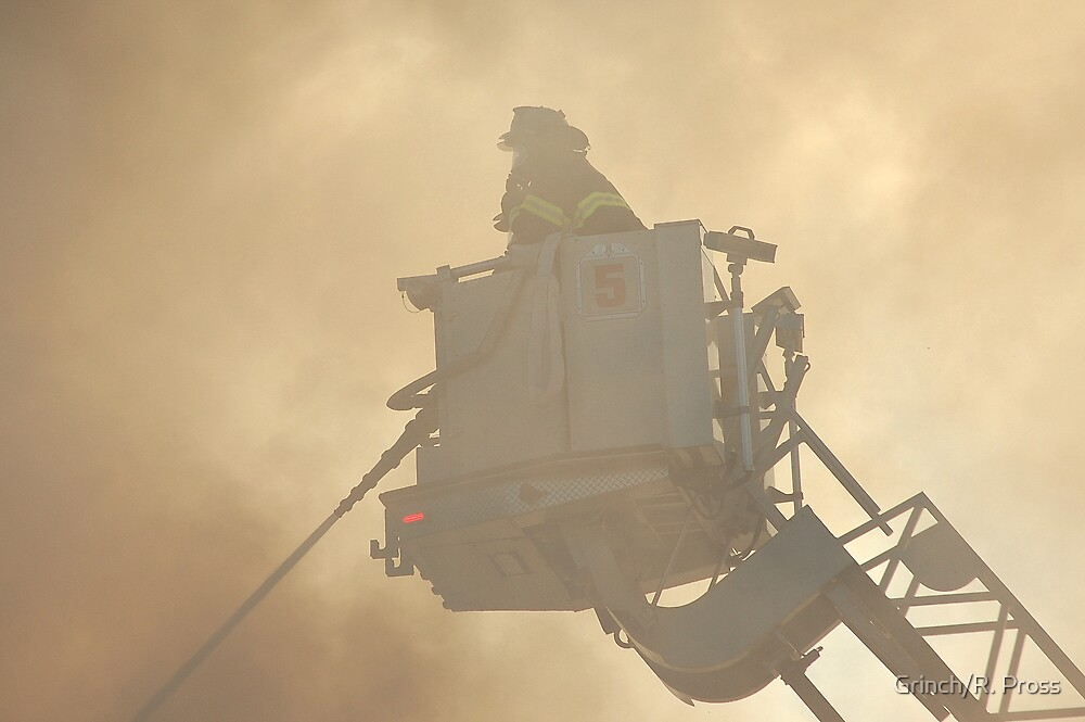 Have You Thanked a Fire Fighter Today? by Grinch/R. Pross