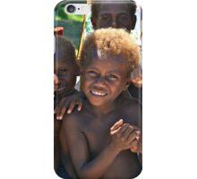 Rabaul Kids from Matupit Island iPhone Case/Skin