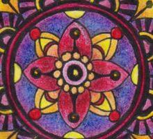Mandala Prototype 1 Sticker