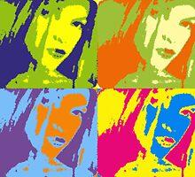 Warhol Effect x 4 by WaleskaL