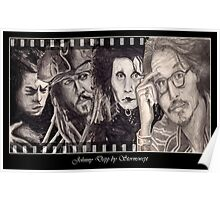 Johnny Depp and Friends Poster