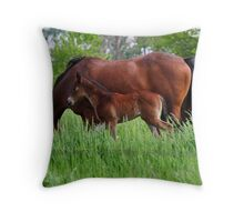 Just like my mom! Throw Pillow