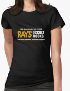 Ray's Occult Books Womens Fitted T-Shirt