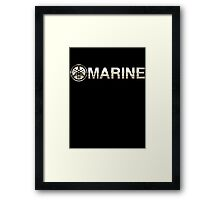 yamaha marine   Framed Print