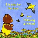 B is For Bear Story ~ pg 4 by Paula Parker