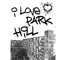 I Love Park Hill Photographic Print