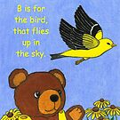 B is For Bear Story ~ pg 1 by Paula Parker