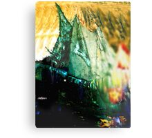 Explosion at Sea Metal Print