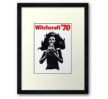 Witchcraft '70 movie shirt! Framed Print