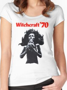 Witchcraft '70 movie shirt! Women's Fitted Scoop T-Shirt