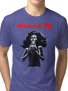 Witchcraft '70 movie shirt! Tri-blend T-Shirt