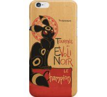 Le Evoli Noir iPhone Case/Skin