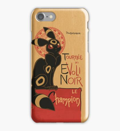 Noir iPhone Case/Skin