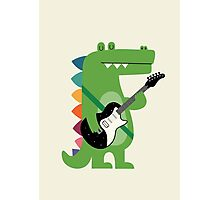 Croco Rock Photographic Print