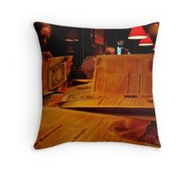 Menus Throw Pillow