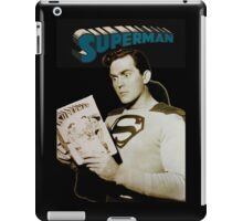 Kirk Alyn Reading Superman 1948 iPad Case/Skin