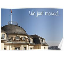 We just moved... Poster