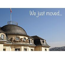 We just moved... Photographic Print