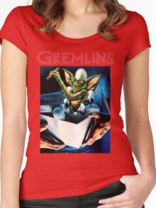 Gremlins Shirt! Women's Fitted Scoop T-Shirt