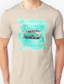 Volkswagen Kombi Mint Swirl © T-Shirt