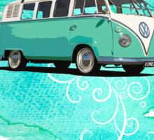 Volkswagen Kombi Mint Swirl Sticker