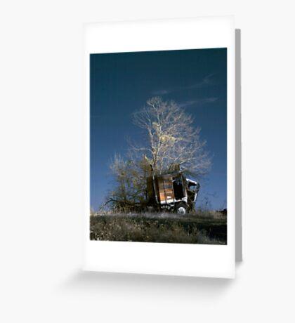 Truck & Tree Greeting Card