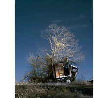 Truck & Tree Photographic Print