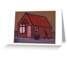 Public sale rooms Greeting Card