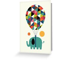 Fly high and dream big Greeting Card