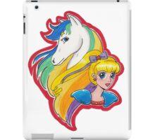 Rainbow and Starlite iPad Case/Skin