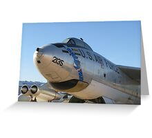 B-47 Stratojet Greeting Card