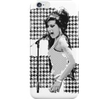 Amy Winehouse in London iPhone Case/Skin