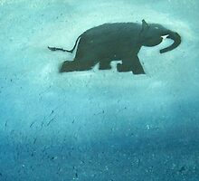 Swimming Elephant by Rahul Kapoor