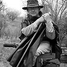 Civil War Reenactor, Ranchos de las Golondrinas by Mitchell Tillison