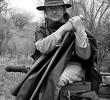 Civil War Reenactor, Ranchos de las Golondrinas by TheBlindHog