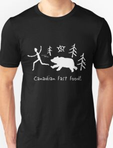 Canadian Fast Food Unisex T-Shirt