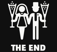 The End (Wedding / Marriage / Champagne / White) by MrFaulbaum